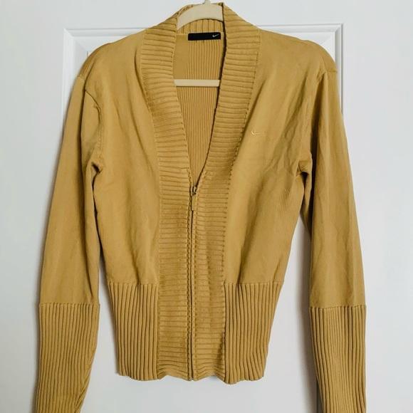 Nike Jackets & Blazers - Gold Nike jacket